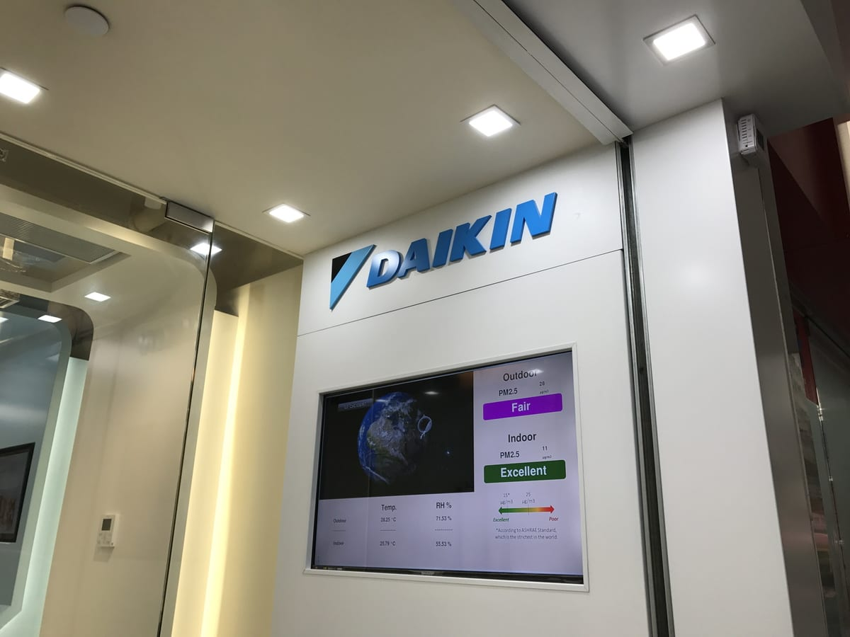 WOOFAA Air as a value-added tool to Daikin Air Conditioning